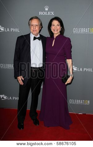 William Friedkin and Sherry Lansing at the Walt Disney Concert Hall 10th Anniversary Celebration, Walt Disney Concert Hall, Los Angeles, CA 09-30-13