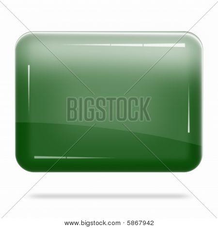 Blank Deep Green Board Float