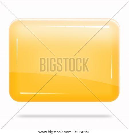 Blank Orange Board Float