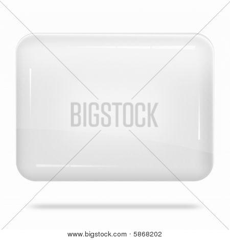 Blank White Board Float