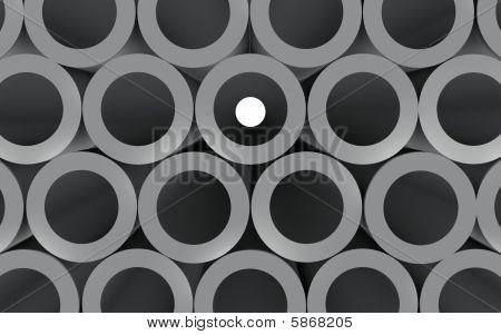 Tubes Look Through
