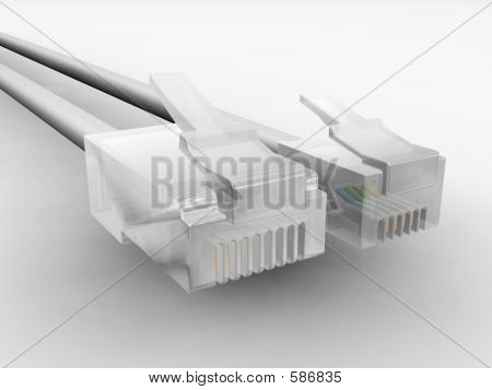 RJ45 And RJ11 Cables