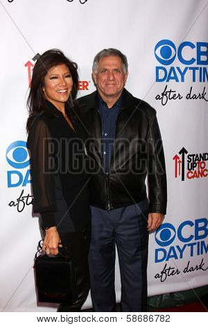 Julie Chen and Les Moonves at the CBS Daytime After Dark Event, Comedy Store, West Hollywood, CA 10-08-13