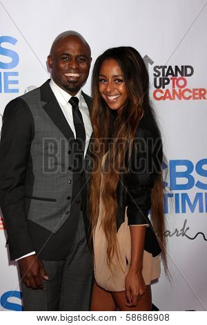 Wayne Brady and girlfriend Marissa at the CBS Daytime After Dark Event, Comedy Store, West Hollywood, CA 10-08-13