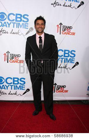 Ignacio Serricchio at the CBS Daytime After Dark Event, Comedy Store, West Hollywood, CA 10-08-13