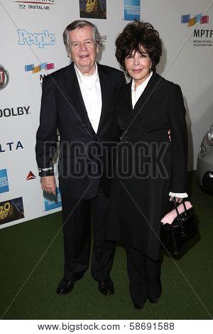 Bob Daly and Carole Bayer Sager at Hugh Jackman