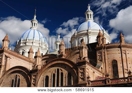 Ecuador, View On The Cuenca City