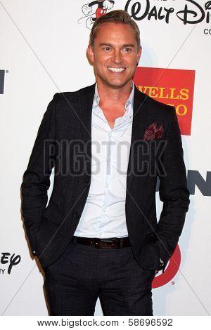 Robert Laughlin at the 2013 GLSEN Awards, Beverly Hills Hotel, Beverly Hills, CA 10-18-13