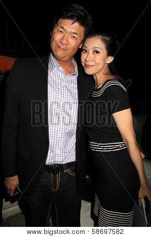 Gary C. Hwang and Angel Huang at the