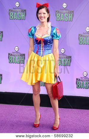 Michelle Stafford at the Hub Network First Annual Halloween Bash. Barker Hangar, Santa Monica, CA 10-20-13