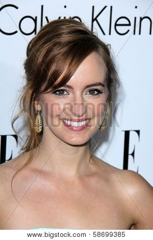 Ahna O'Reilly at the Elle 20th Annual