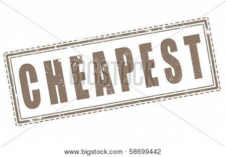 Cheapest
