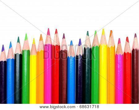 Pencil crayon border