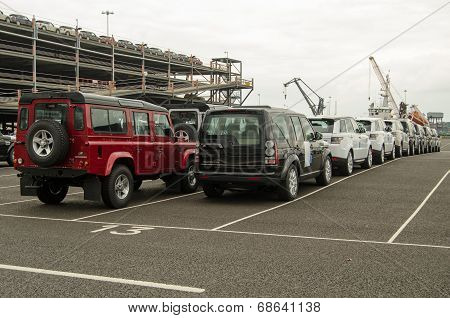 Land Rover Exports, Southampton