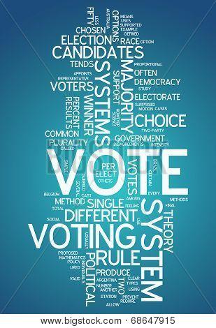 Word Cloud Vote