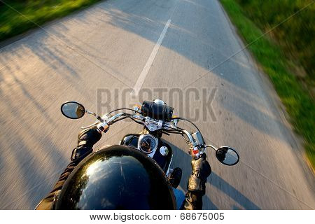 driving motorcycles