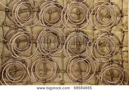 Furniture Springs Inside The Old Chair
