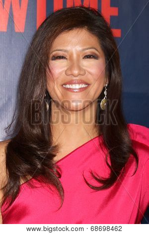 LOS ANGELES - JUL 17:  Julie Chen at the CBS TCA July 2014 Party at the Pacific Design Center on July 17, 2014 in West Hollywood, CA