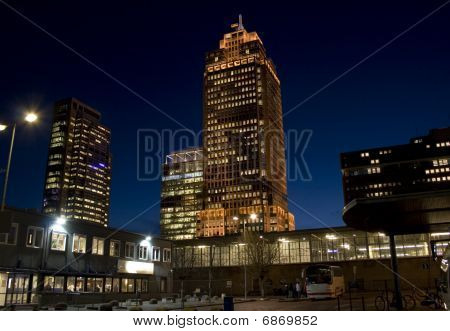Rembrandt Tower By Night