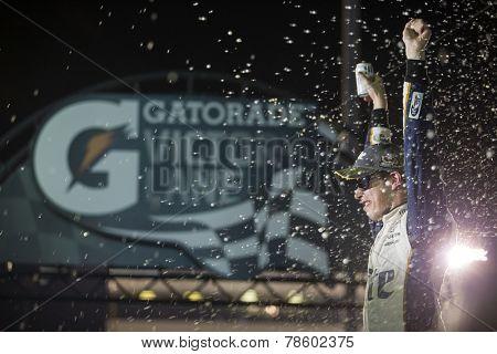 Richmond, VA - Sep 06, 2014:  Brad Keselowski (2) wins the Federated Auto Parts 400 at Richmond International Raceway in Richmond, VA.