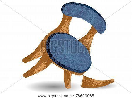 Broken Chair Leg