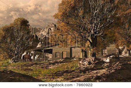 Western Horse Ranch