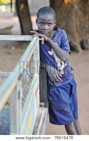 Boy From Mikuni Village, Zambia