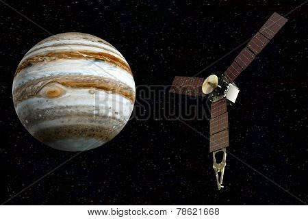 jupiter and satellite juno