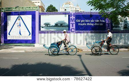 Vietnamese Man, Cyclo Driver