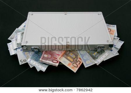 suitcase money