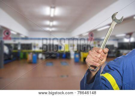 worker on the shop floor