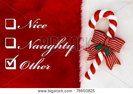Naughty, Nice Or Other