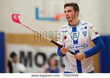 Chodov striker Tom Ondrusek