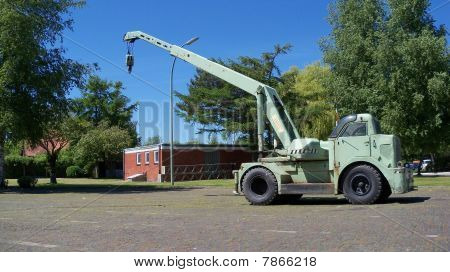 Mobile crane of the 50th`s