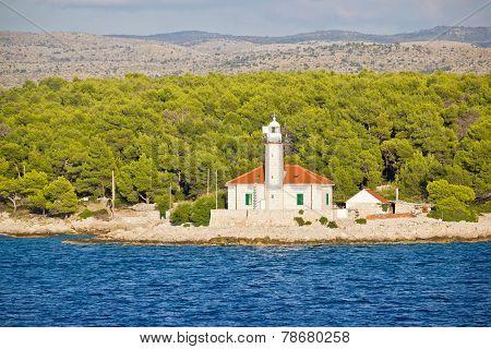 Island Of Brac Lighthouse View