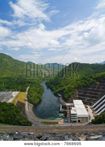 Sri Nakharin Dam
