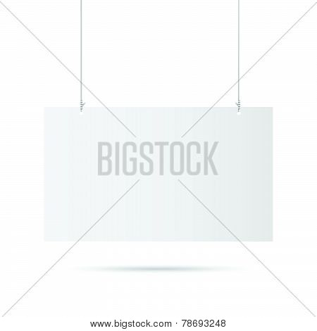 Hanging Sign Illustration