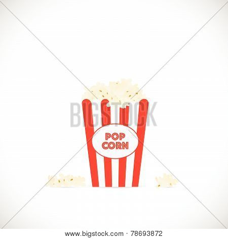 Popcorn Illustration
