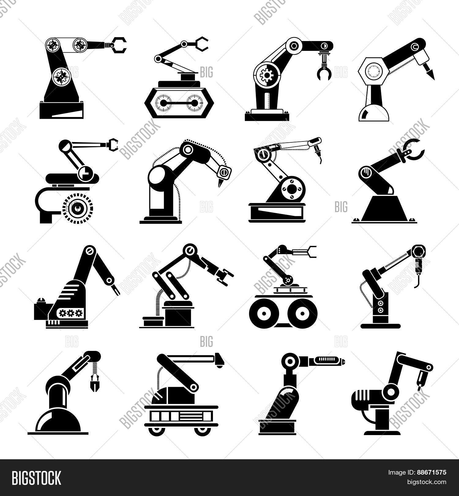 Robotic Hand Icons, Vector & Photo (Free Trial) | Bigstock