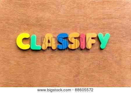 Classify