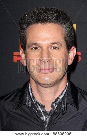 LOS ANGELES - FEB 18:  Simon Kinberg at the Global Premiere of