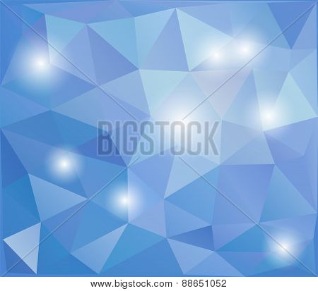 Abstract polygonal design background