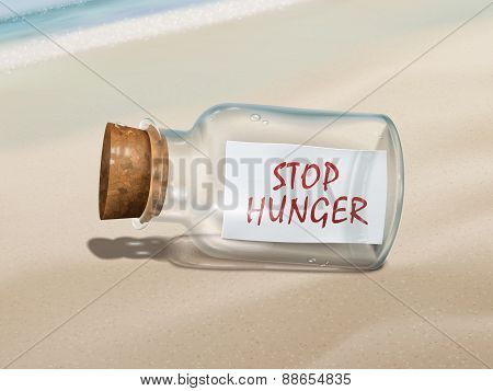 Stop Hunger Message In A Bottle