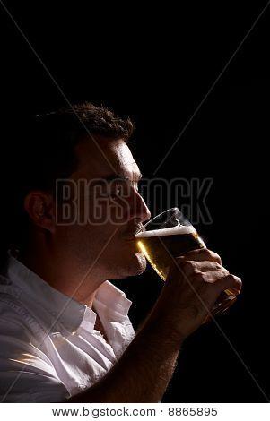 Having A Pint