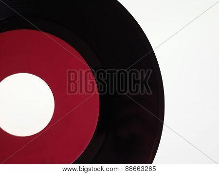 Vinyl Record Isolated