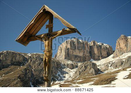 crucifix mountain