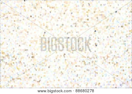Abstract Background With Pale Spots