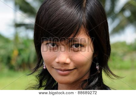 People From Indonesia, Young Indonesian Girl