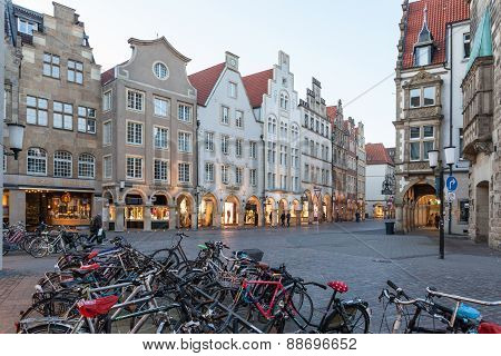 Old Town Of Muenster, Germany