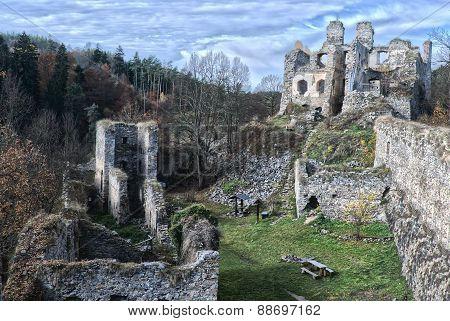 Romantic Castle Ruins